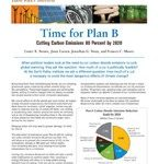 Time For Plan B_Cutting Carbon Emissions by Lester R. Brown, Janet Larsen, Jonathan G. Down, and Frances C. Moore